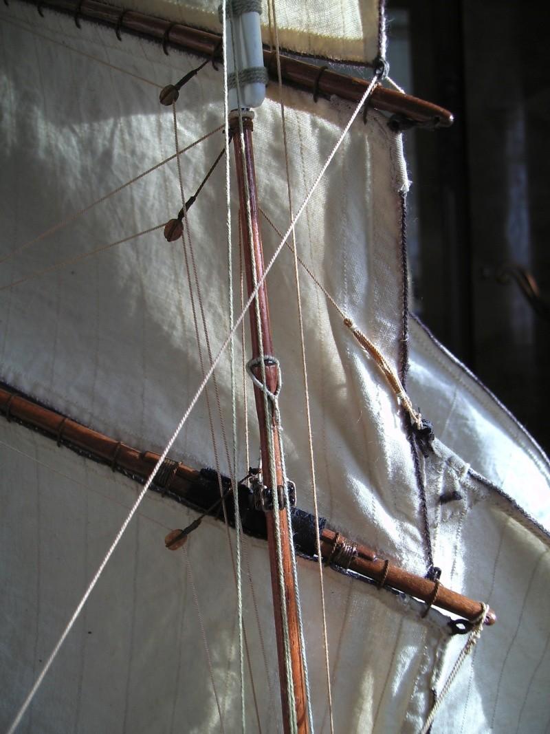 """BISQUINE sur la base """"La Cancalaise"""" Billing Boats 1/40°  - Page 8 Voiles14"""