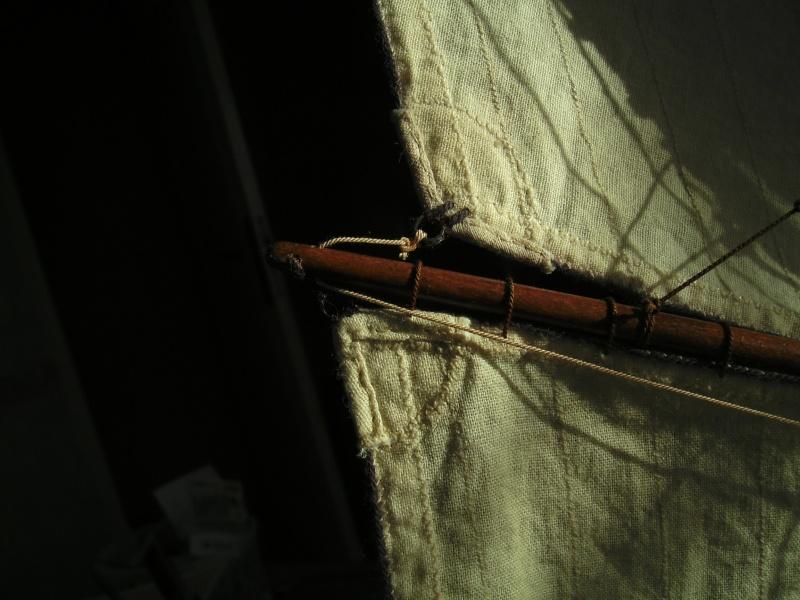 """BISQUINE sur la base """"La Cancalaise"""" Billing Boats 1/40°  - Page 7 Voiles15"""