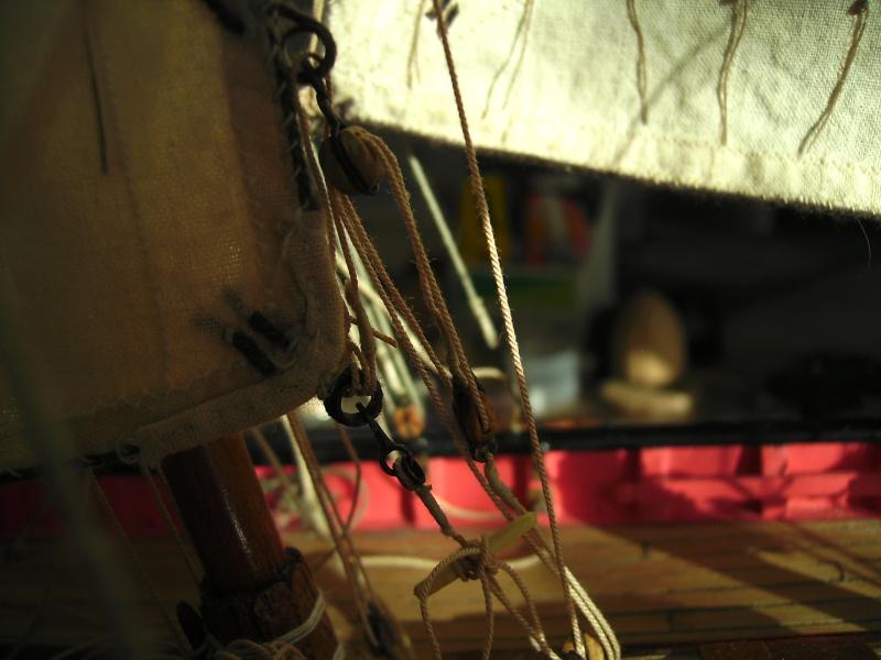 """BISQUINE sur la base """"La Cancalaise"""" Billing Boats 1/40°  - Page 7 Voiles16"""