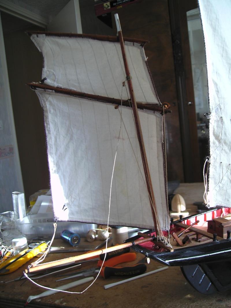 """BISQUINE sur la base """"La Cancalaise"""" Billing Boats 1/40°  - Page 7 Voiles19"""