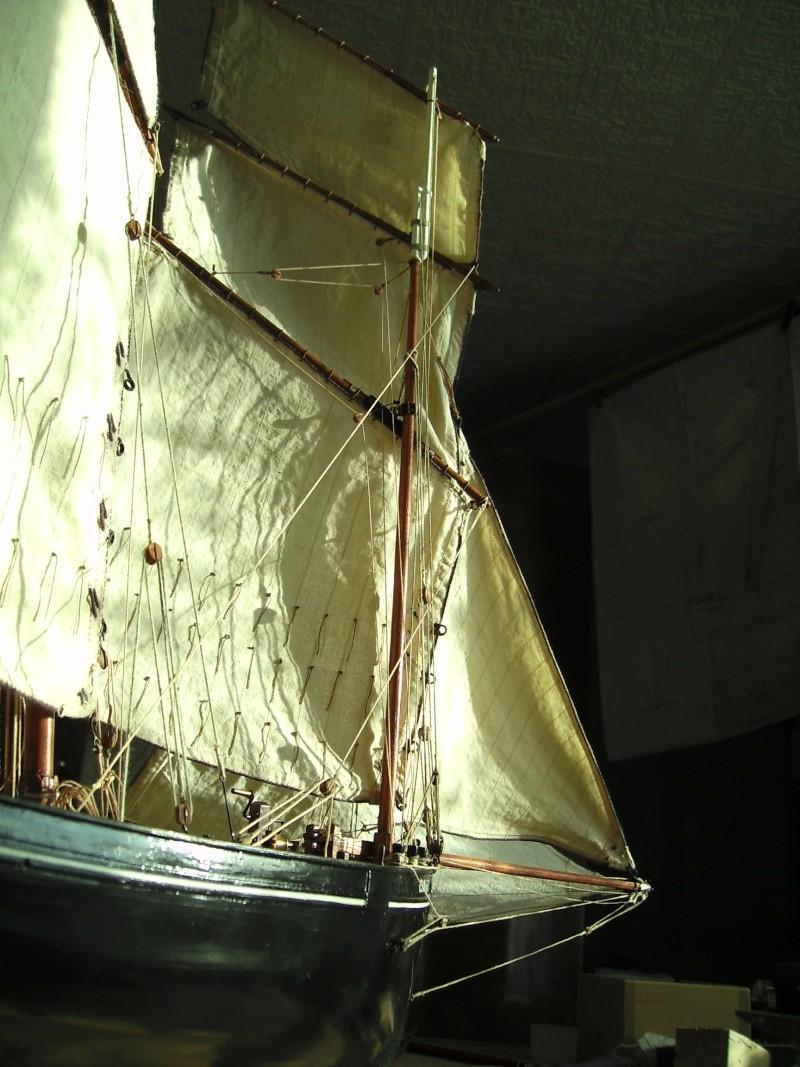 """BISQUINE sur la base """"La Cancalaise"""" Billing Boats 1/40°  - Page 7 Voiles22"""