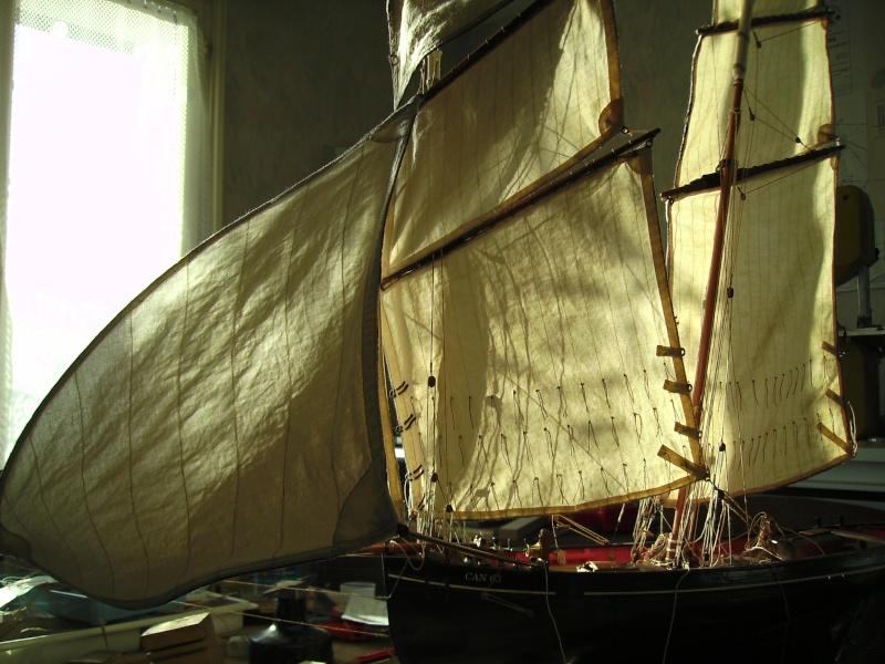 """BISQUINE sur la base """"La Cancalaise"""" Billing Boats 1/40°  - Page 7 Voiles23"""