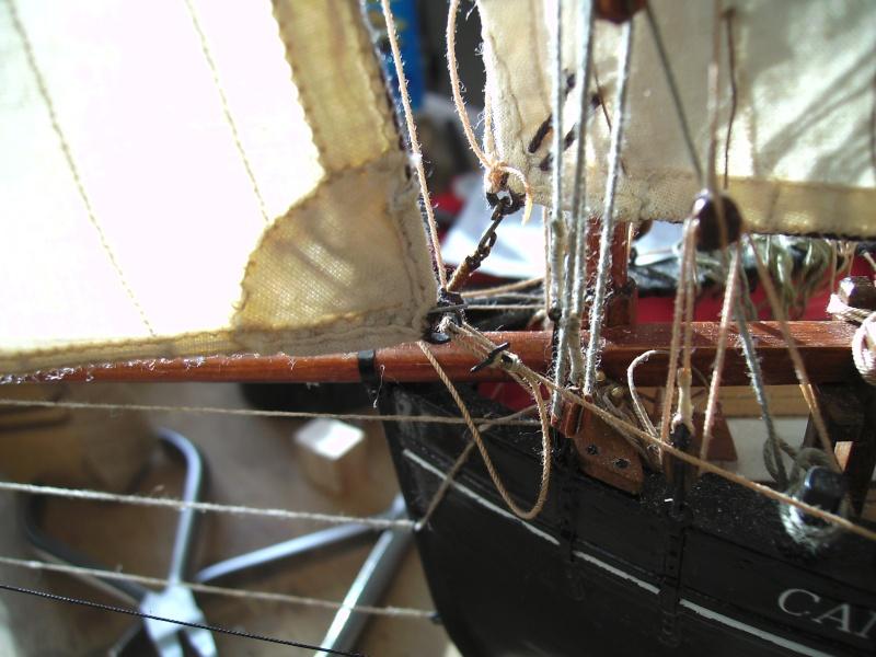 """BISQUINE sur la base """"La Cancalaise"""" Billing Boats 1/40°  - Page 7 Voiles25"""