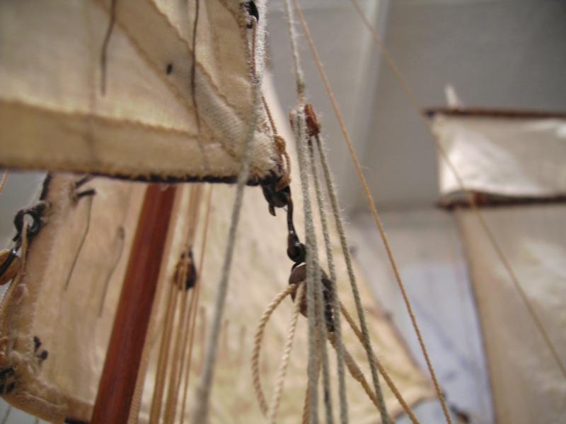 """BISQUINE sur la base """"La Cancalaise"""" Billing Boats 1/40°  - Page 8 Voiles26"""