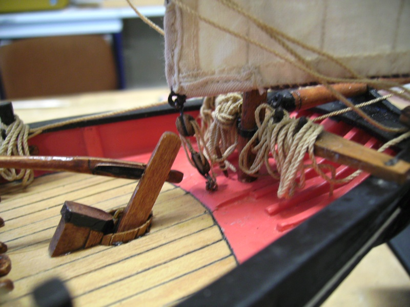 """BISQUINE sur la base """"La Cancalaise"""" Billing Boats 1/40°  - Page 7 Voiles27"""