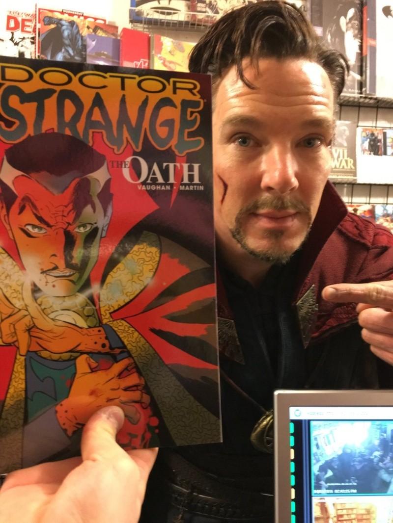 Doctor Strange, avec Benedict Cumberbatch (Marvel) Cfj6j810