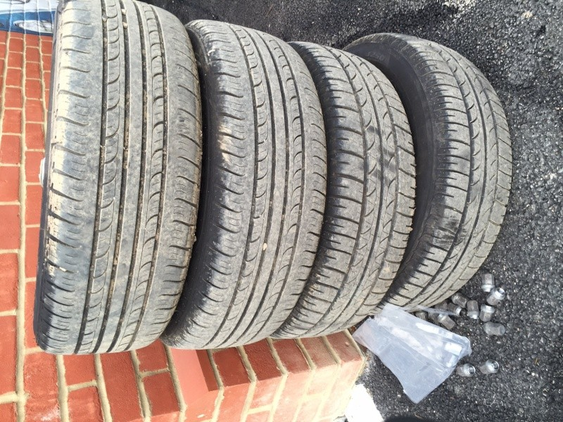 Set of 4 x EMPI Wheels and Bridgestone Tires, collection only, £100 firm. Img_7911