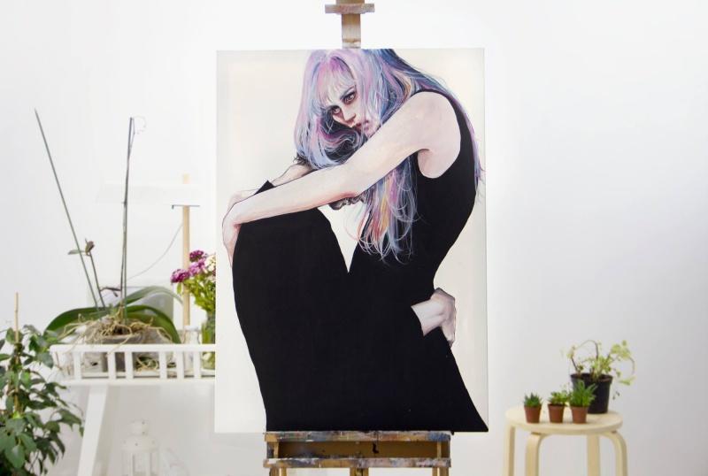 artistes peintre / illustrateur / dessinateur / graphiste qui font briller les yeux 10285310
