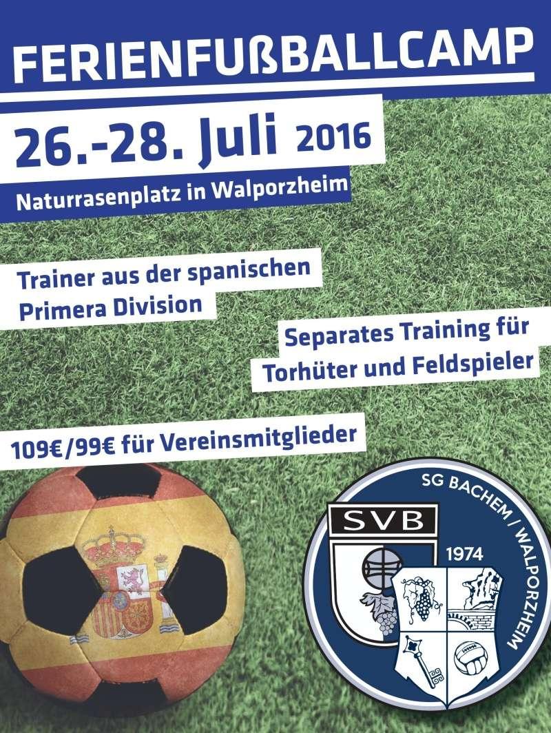 Torwart/Feldspieler Camp (26.-28. Juli) Flyers10