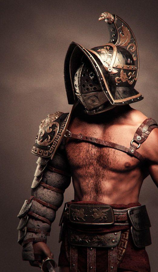 YH1833 Gladiators II 1st Century A.D par Pisco  fin 78663310