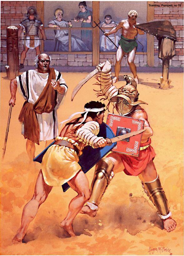 YH1833 Gladiators II 1st Century A.D par Pisco  fin - Page 2 Amb_tr10
