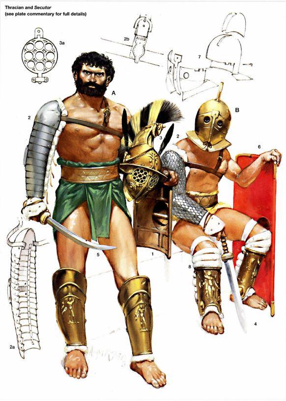 YH1833 Gladiators II 1st Century A.D par Pisco  fin - Page 2 Amb_tr11