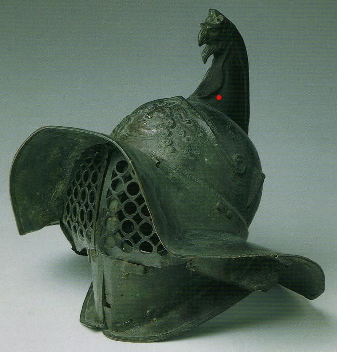 YH1833 Gladiators II 1st Century A.D par Pisco  fin - Page 2 Helmet10