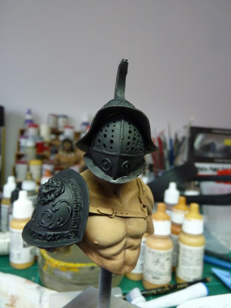 YH1833 Gladiators II 1st Century A.D par Pisco  fin P1070517