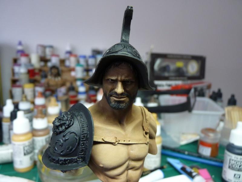 YH1833 Gladiators II 1st Century A.D par Pisco  fin P1070520