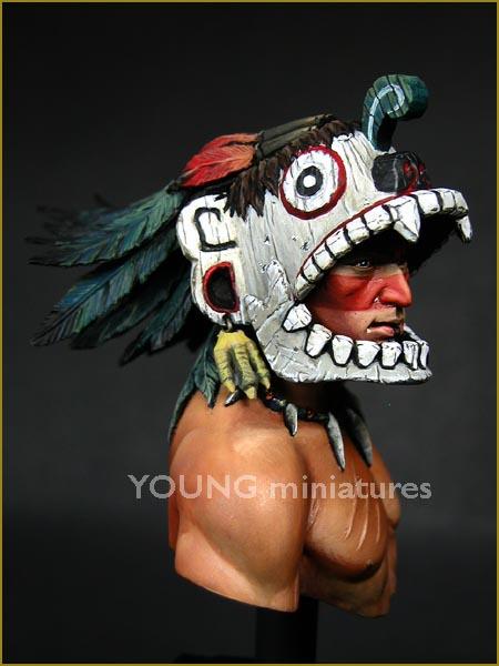 YH1819 Tlacochcalcatl par pisco _ comment faire des plumes de pamitl qd on sait pas en faire  Yh181910