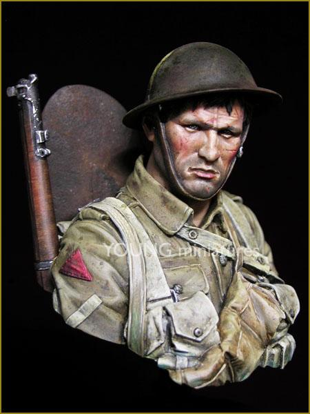 YM1837 British Infantryman Somme 1916 par Pisco Ym183710