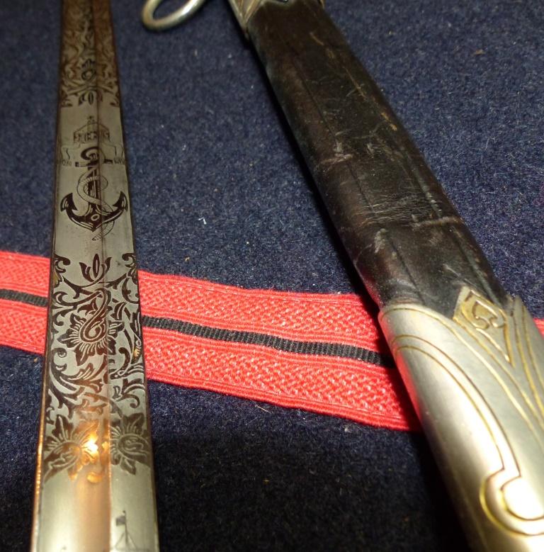 Sabres Marine et épées. P1220261