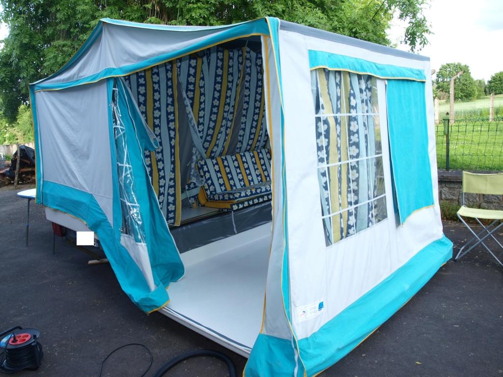 nouvelle caravane à la place de notre solena Saa10