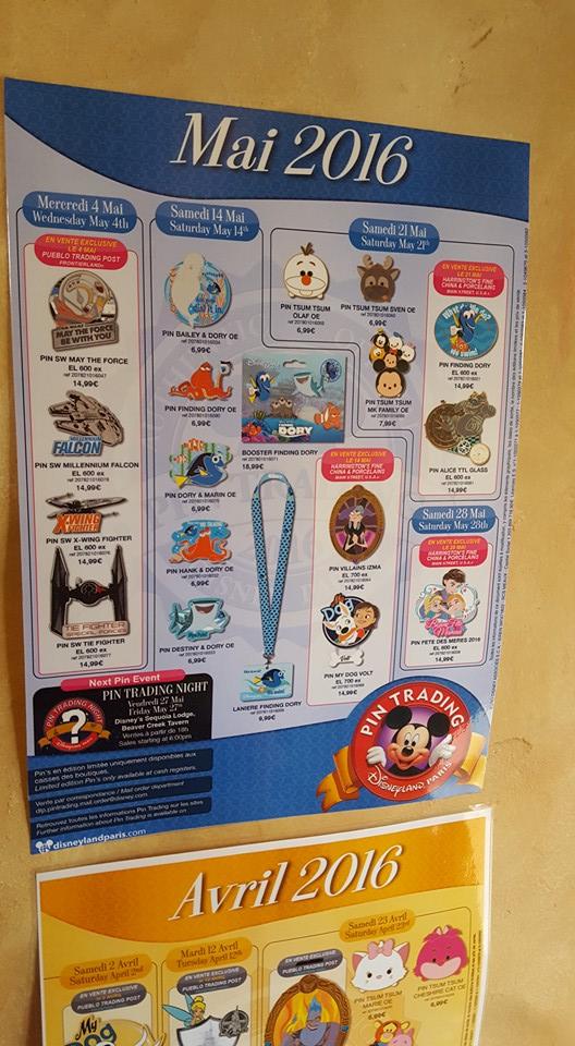 Le Pin Trading à Disneyland Paris - Page 6 Affich10