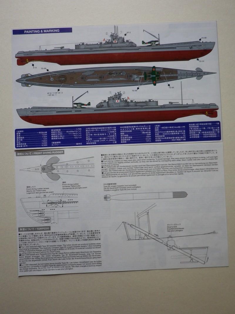sous-marin japonais I-400 Tamya au 1/350 Imgp4221