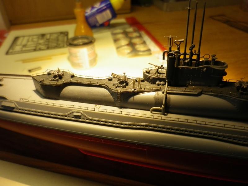 sous-marin japonais I-400 Tamya au 1/350 Imgp4228
