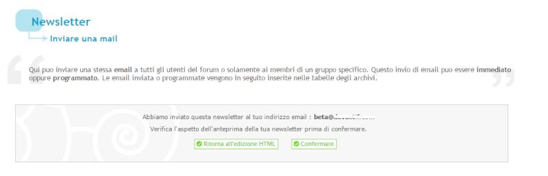 newsletter accettare di default e problema invio Newsle10
