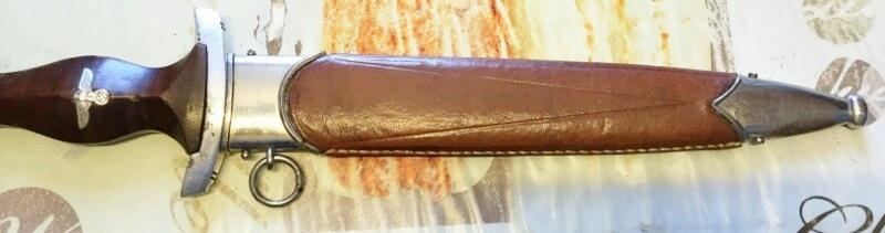dague SA fourreau recouvert cuir ??  _2016010