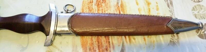 dague SA fourreau recouvert cuir ??  _2016012