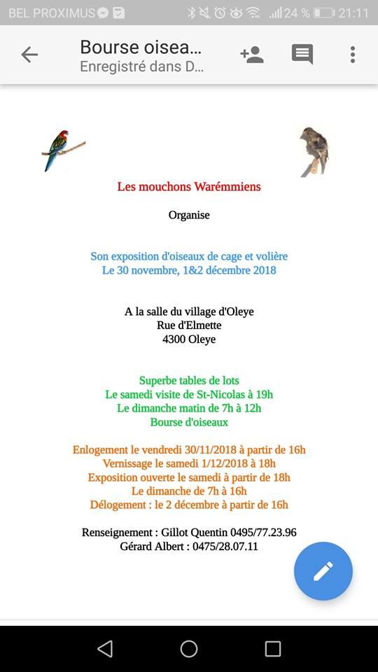 Expo-bourse Oleye [30 nov-1&2 déc 2018] Oleye_10