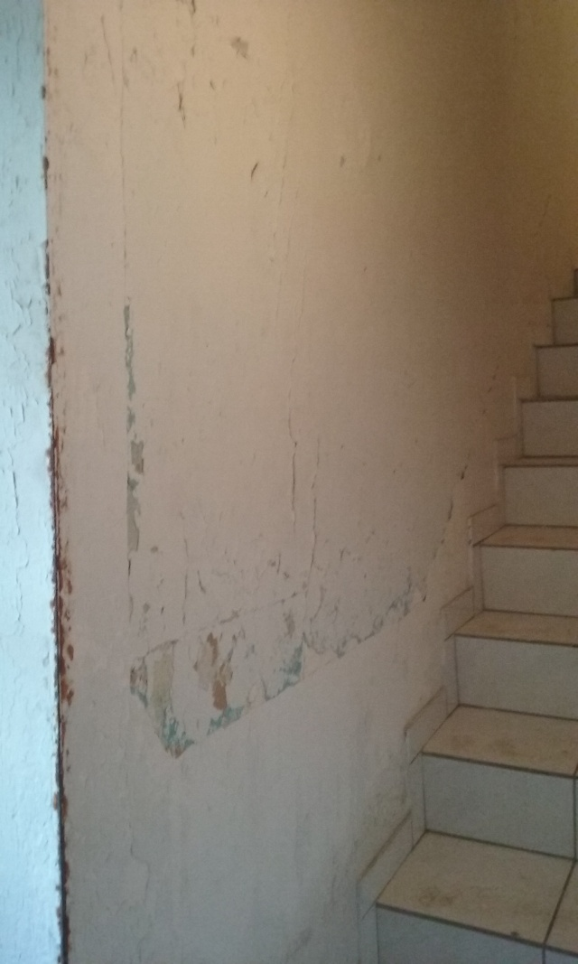 Home staging dans la cage d'escalier 20160112