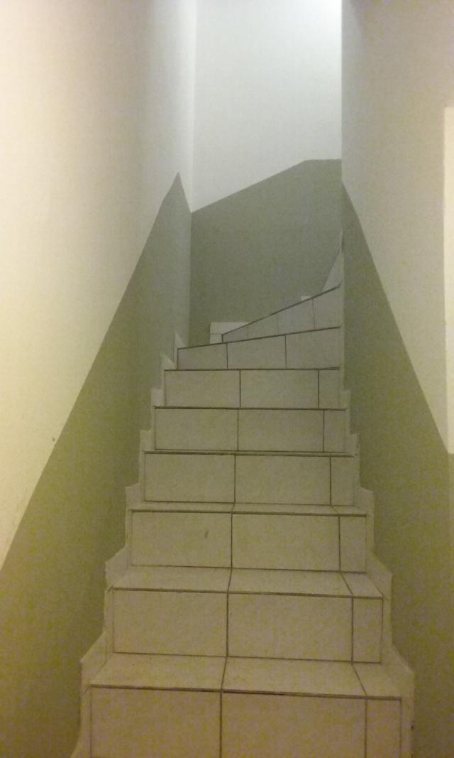 Home staging dans la cage d'escalier 20160210