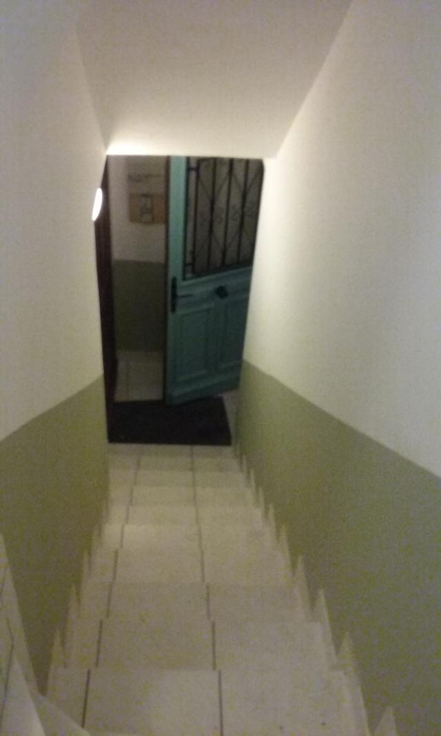 Home staging dans la cage d'escalier 20160212