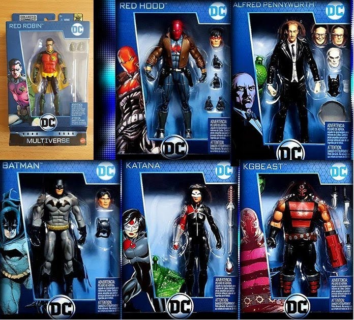 Dc multiverse wave 11 MATTEL Batman10