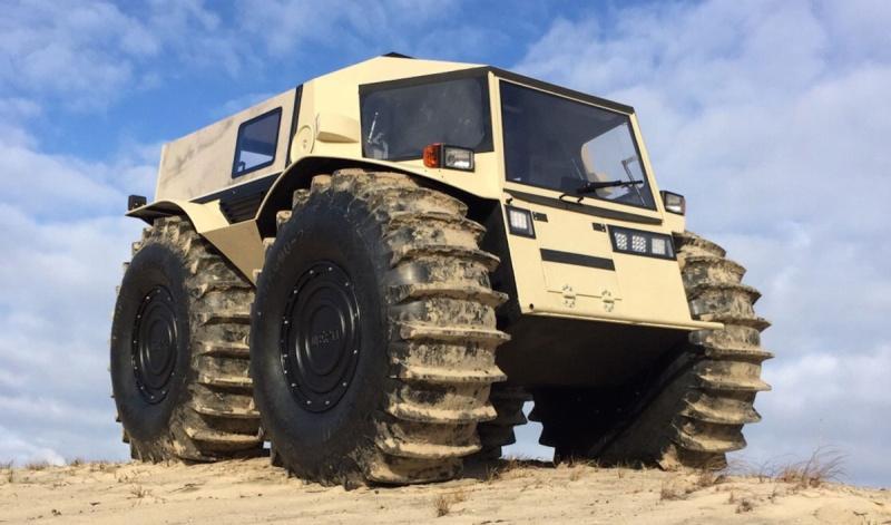 THE 4x4 amphibie (SHERP ATV). Sherp_12