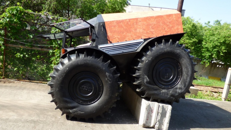 THE 4x4 amphibie (SHERP ATV). Sherp_14