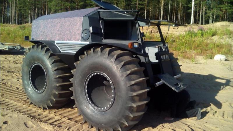 THE 4x4 amphibie (SHERP ATV). Sherp_25