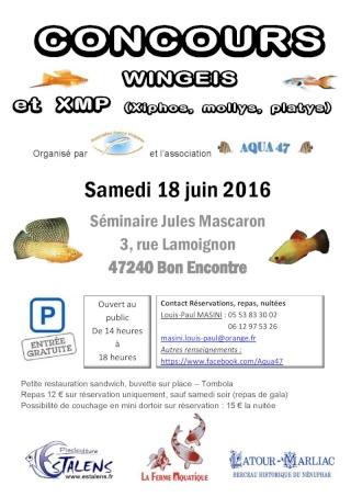 (47) Concours et Bourse les 18 et 19 juin Affich10
