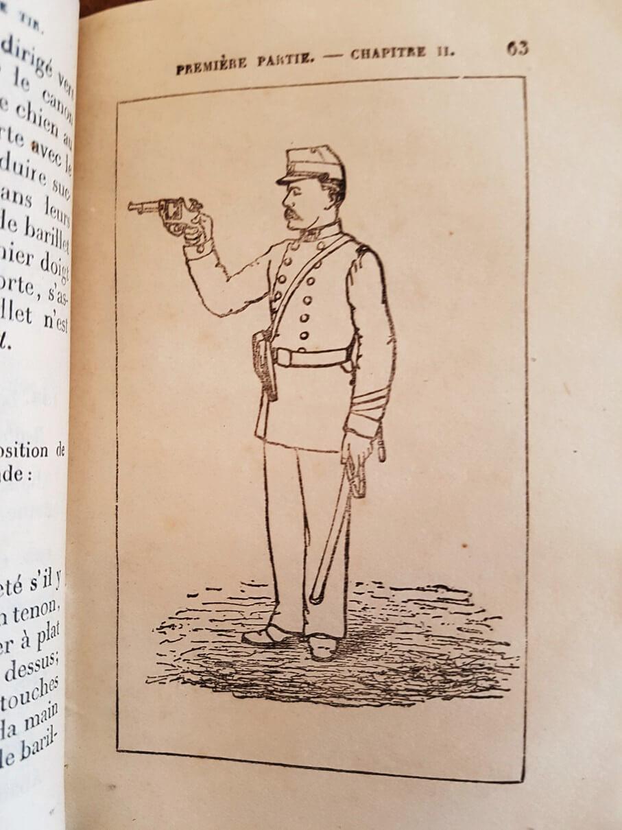 Une instruction de tir sur le revolver mle 1873 recherchée depuis longtemps ! 1-210