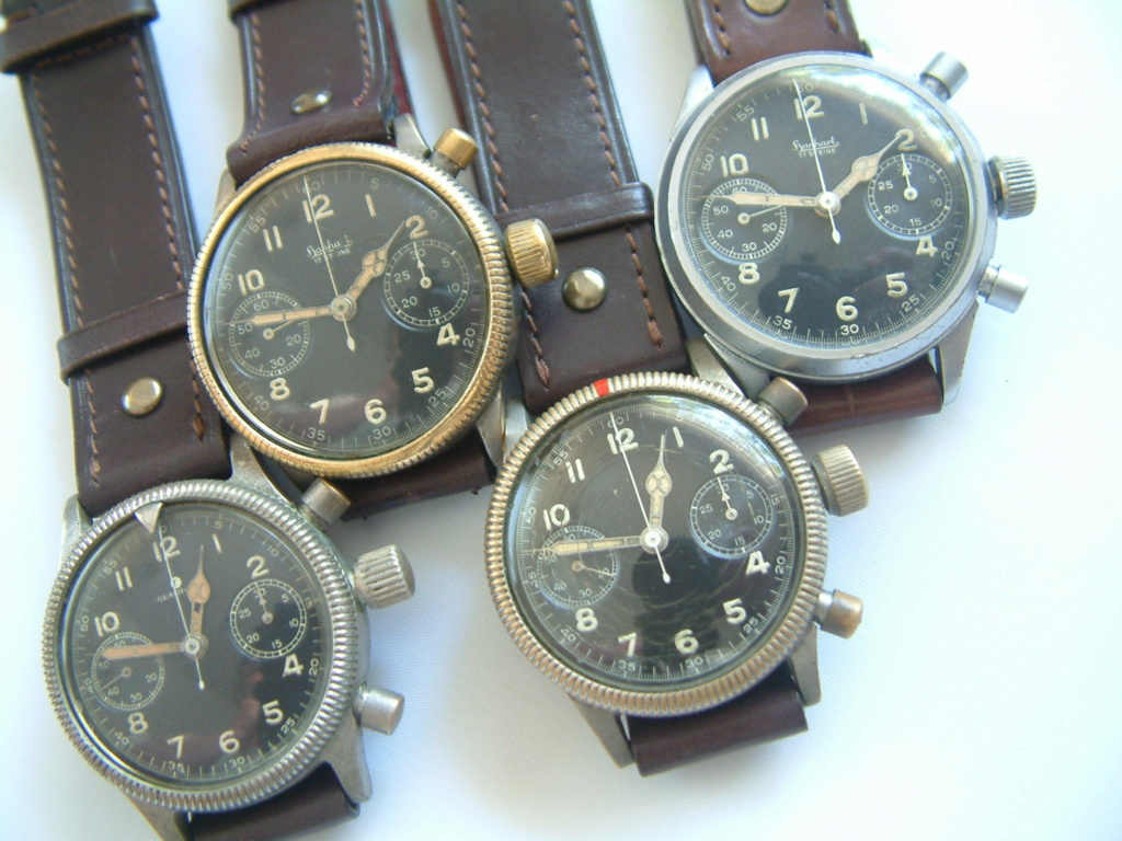 Estimation montre Hanhart Luftwaffe WW2 Pilot 111
