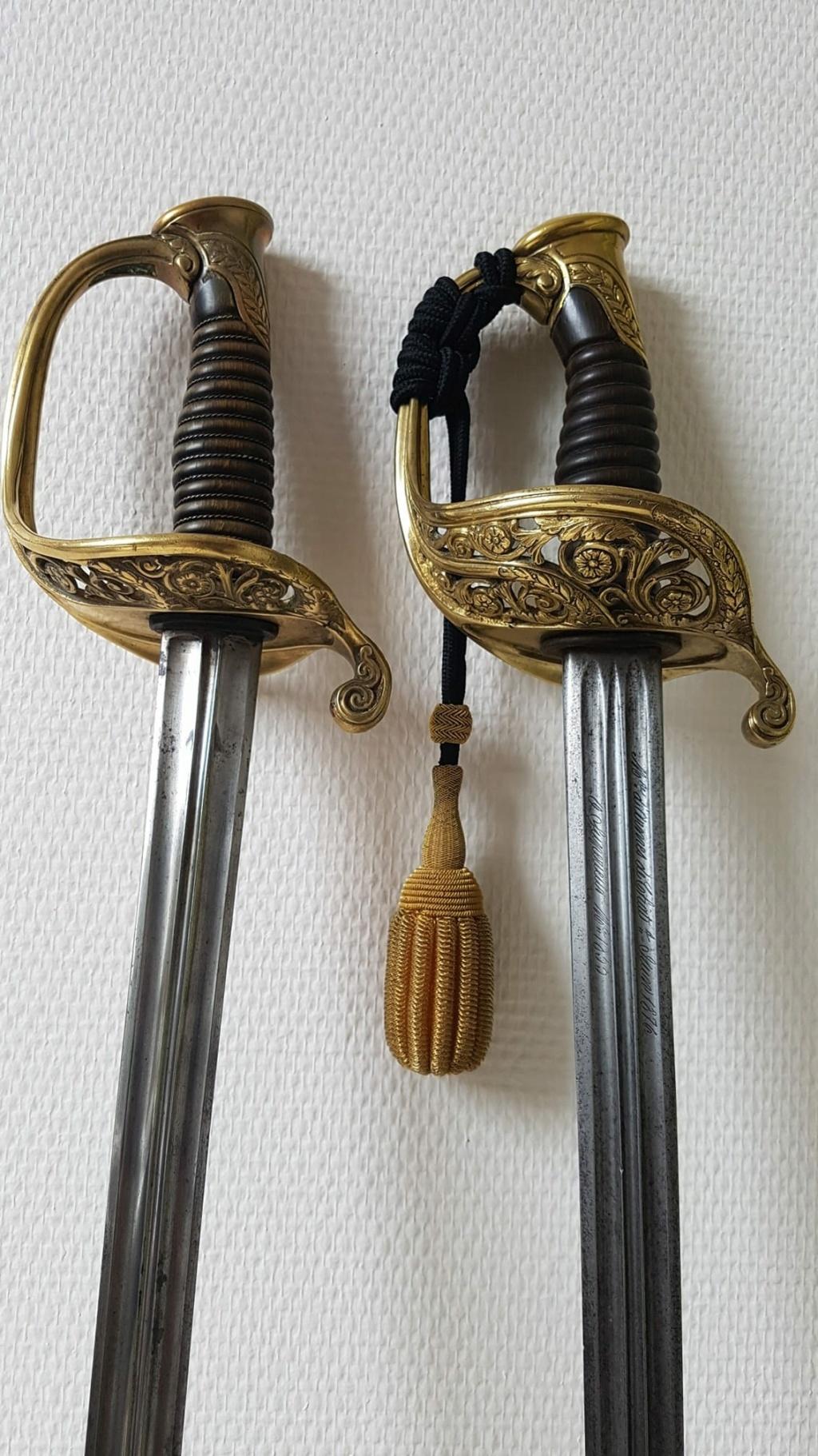 Sabre 1855 d'Officier Supérieur d'Infanterie 11830910