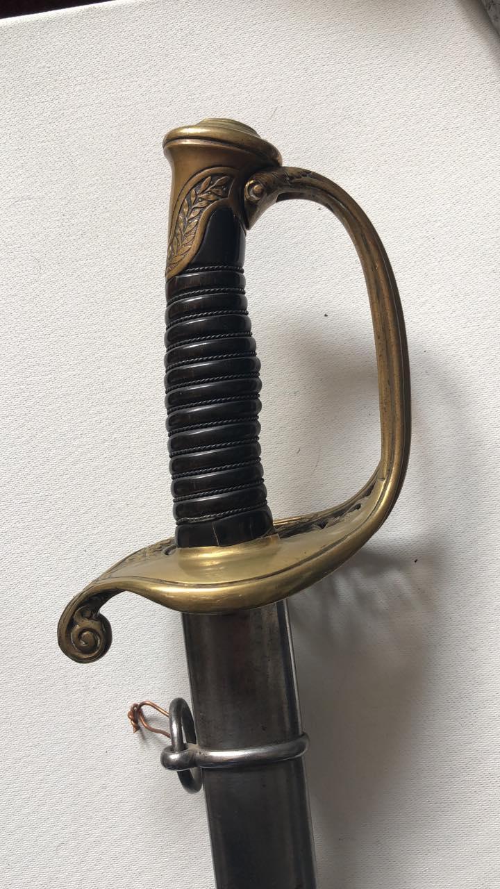 Sabre d'officier supérieur d'infanterie modèle 1845 - Page 3 142