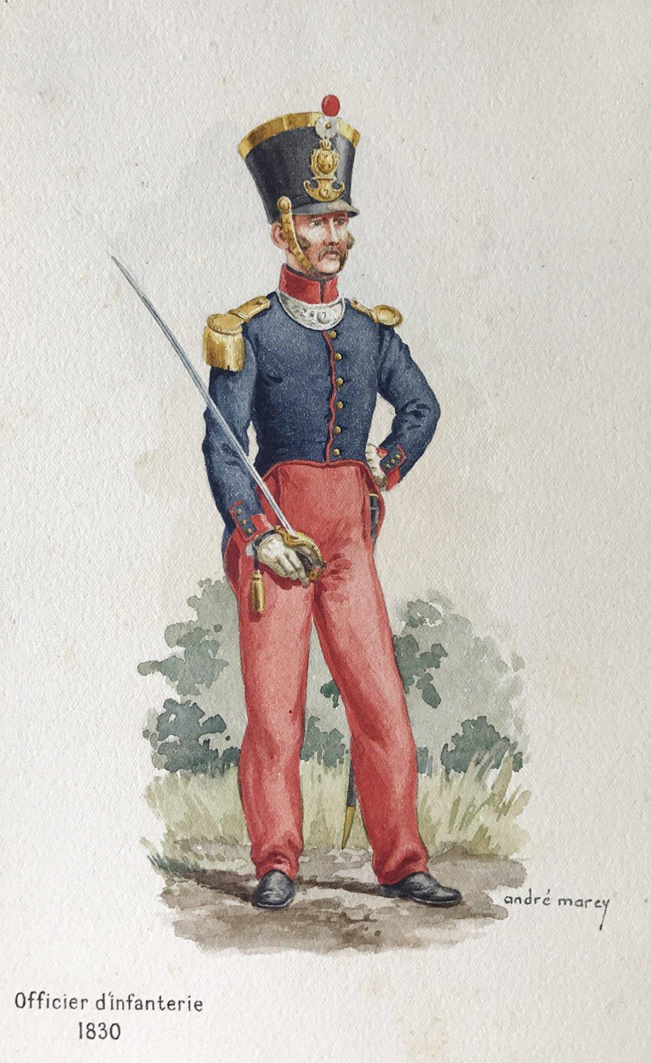 Dragonnes françaises  - 1ère partie : officiers de 1818 à 1914 - Page 2 1830-u10