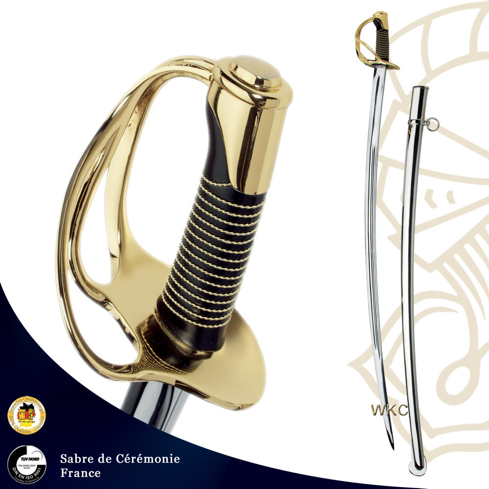 Sabre de cavalerie officier  WKC France 1922-110
