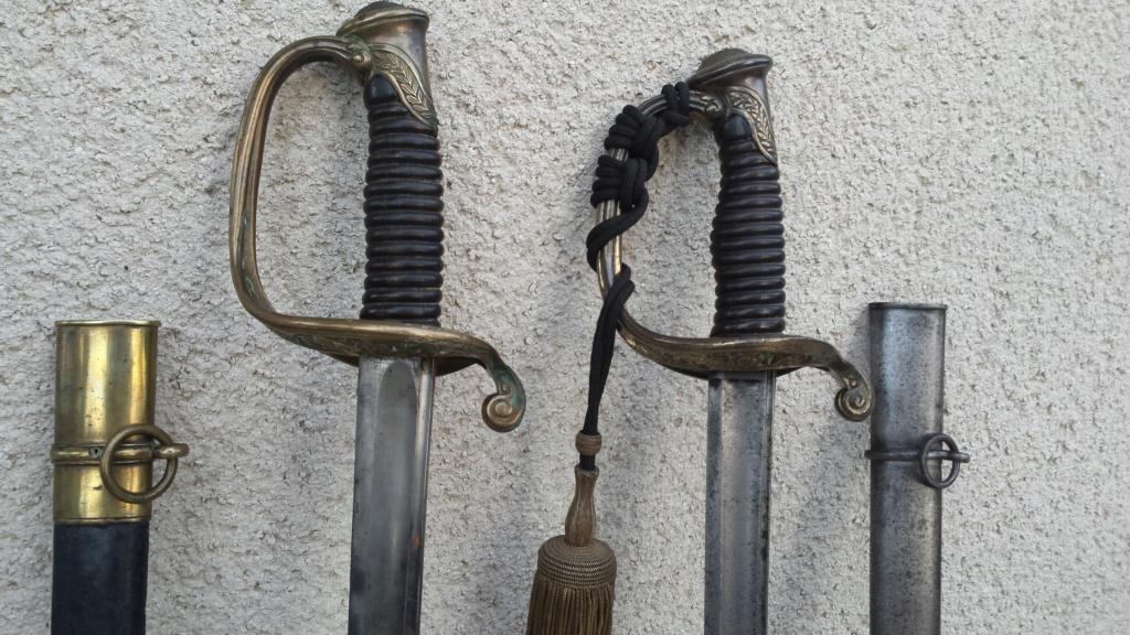 Sabres d'officier d'infanterie modèles 1845 et 1845-55 20180715