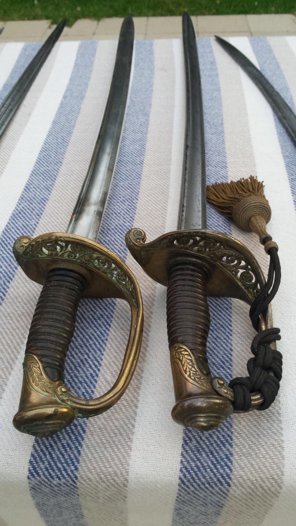 Sabres d'officier d'infanterie modèles 1845 et 1845-55 20180716