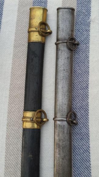 Sabres d'officier d'infanterie modèles 1845 et 1845-55 20180721