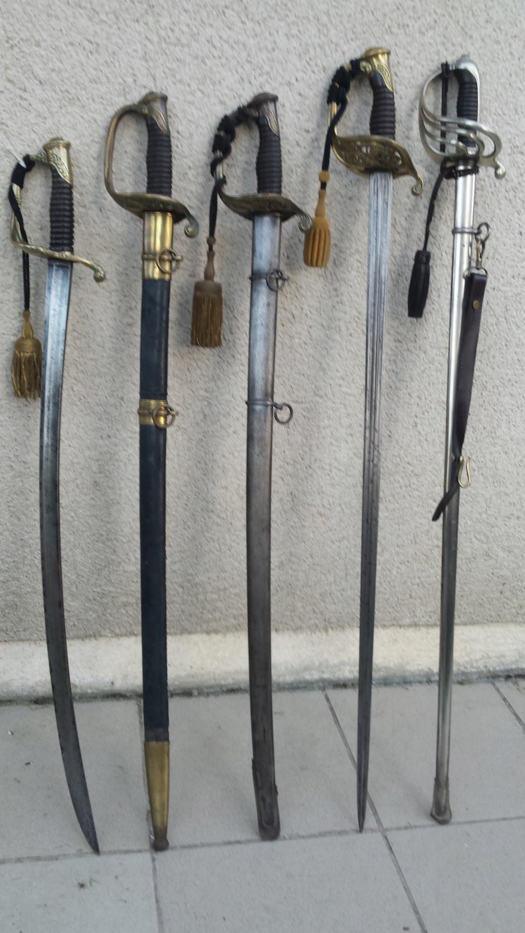 Sabres d'officier d'infanterie modèles 1845 et 1845-55 20180723