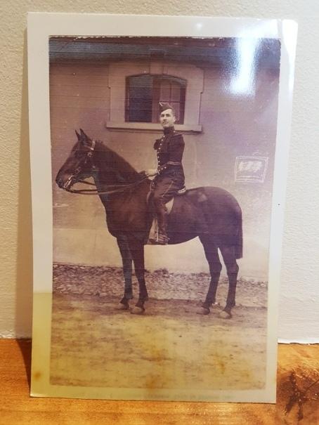 Un ensemble de souvenir de mon arrière Grand Père (1ere GM: cuirassier et AS) 20190312