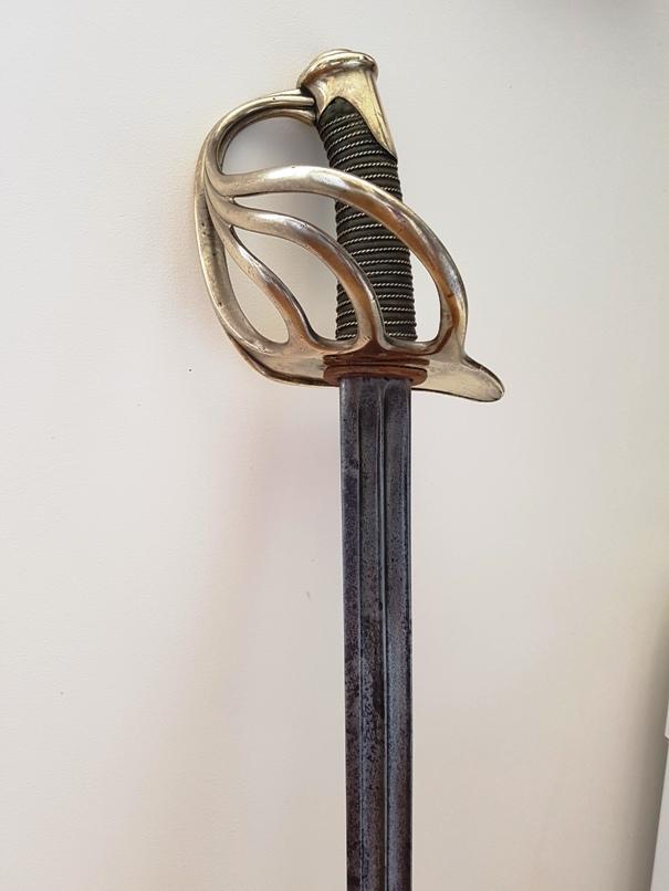 sabre de carabinier modèle 1854 20190623